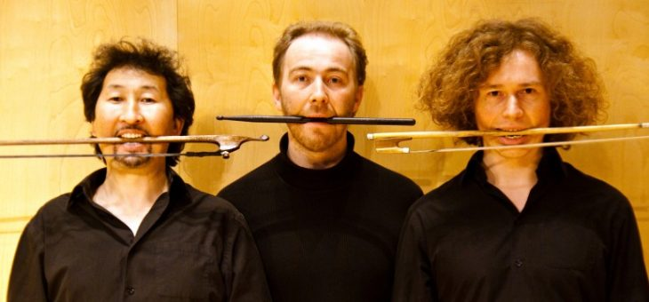 Das Trio Violons Barbares.